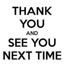 Thank you guys! Will see you next time ... - Natal dan Tahun ...