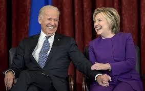 Hillary Clinton endorses Joe Biden for US president | The Times of Israel