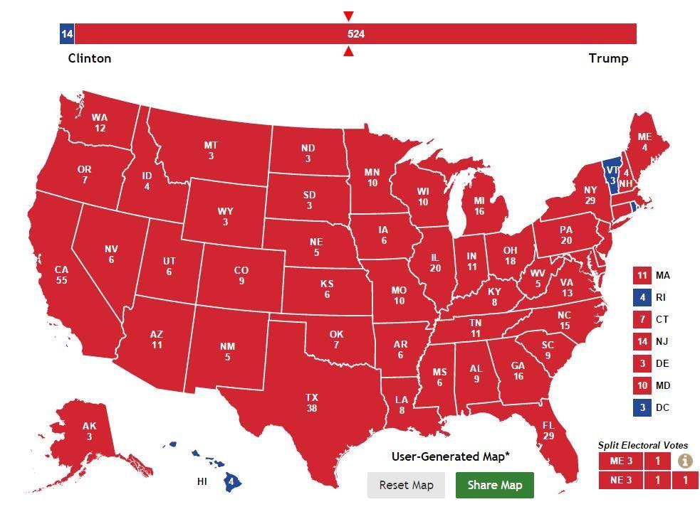 2015-08-030 Trump wet-dream EV map - Trump supporters.jpg