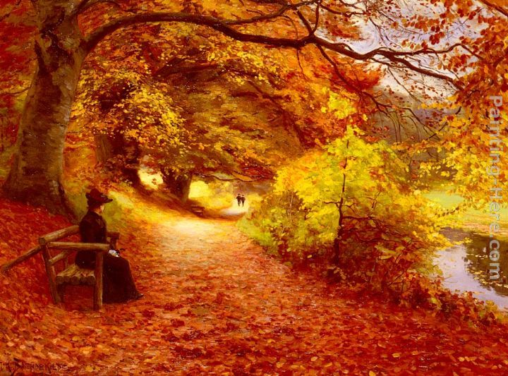 A Wooded Path In Autumn.jpg