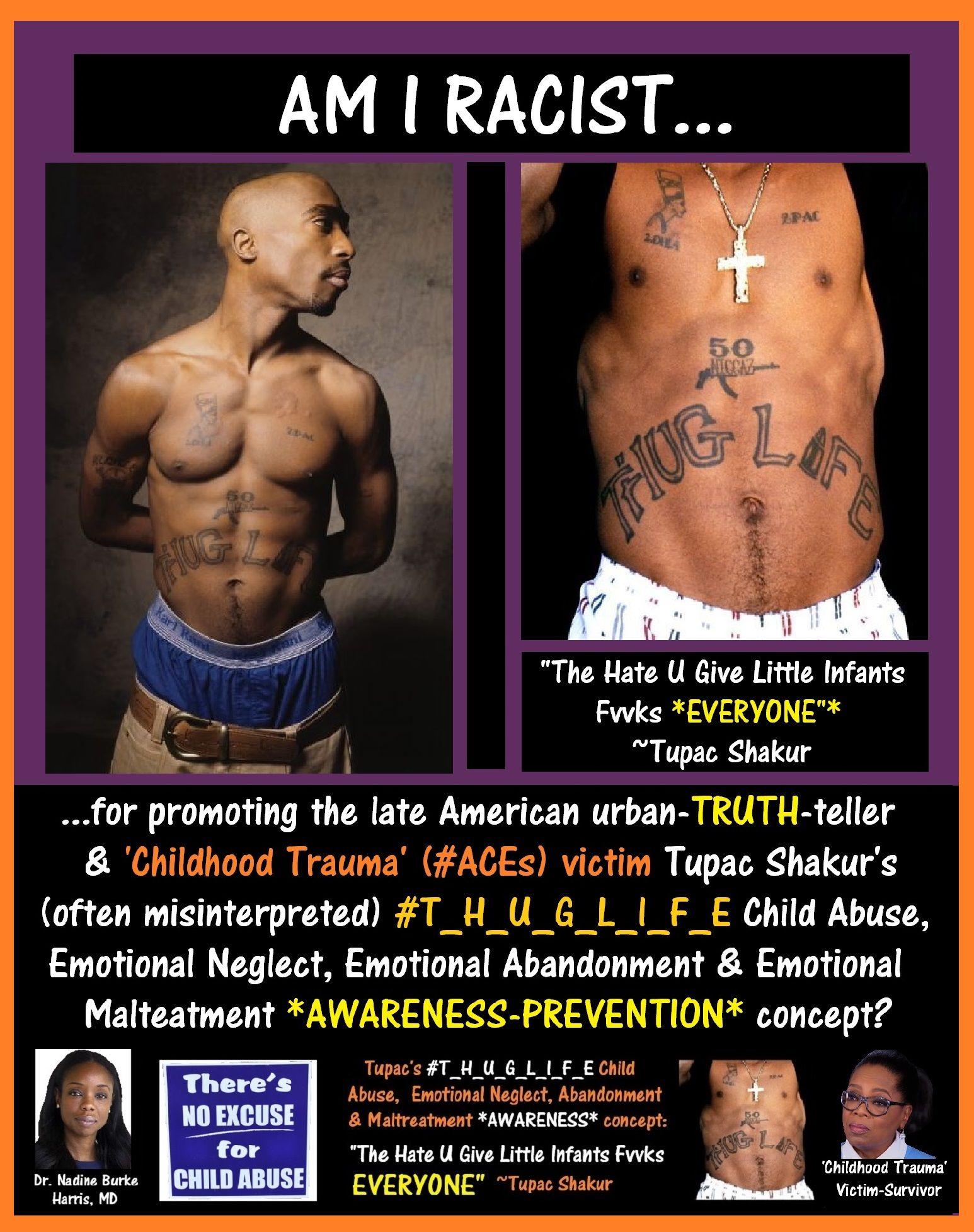 Am_I_Racist, Tupac Shakur THUGLIFE RACISM.jpg