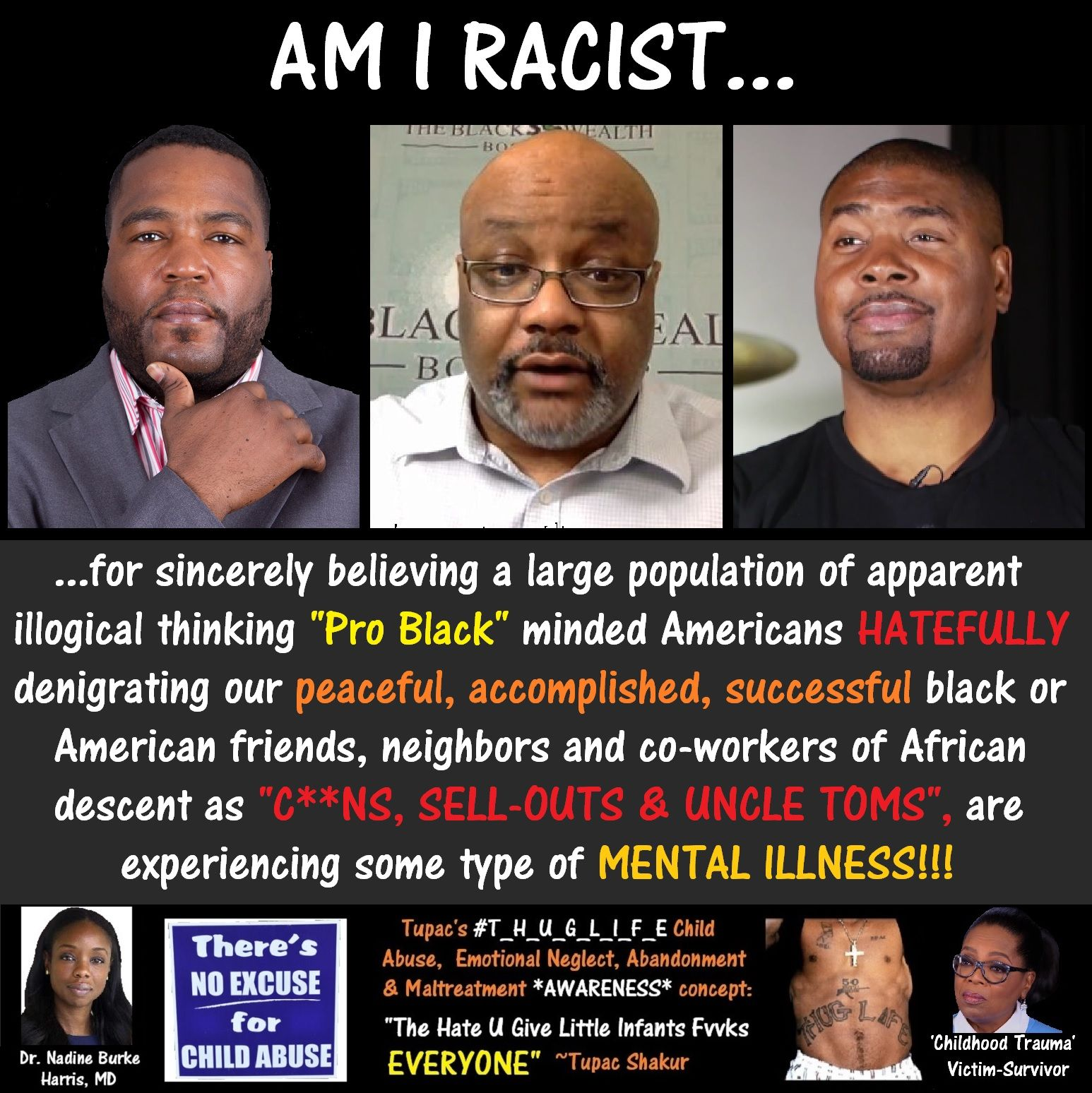 Am_I_Racist, Umar Johnson, Boyce Watkins, Tariq Nasheed.jpg