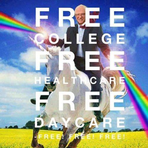 bernie everything is free.jpg
