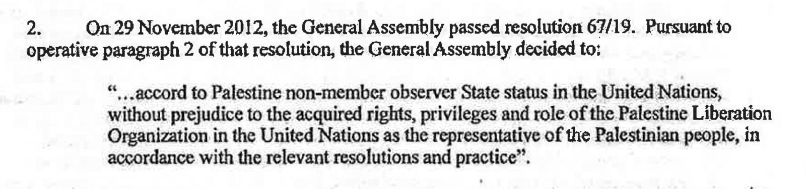 Exscerpt• 2012 Memo • UN Legal Affairs Ofc.png
