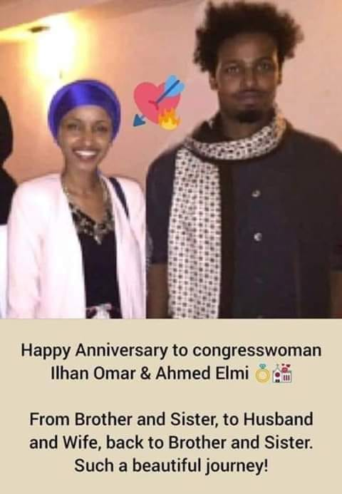 IIhan Omar's marriage to brother was a sham it is widely