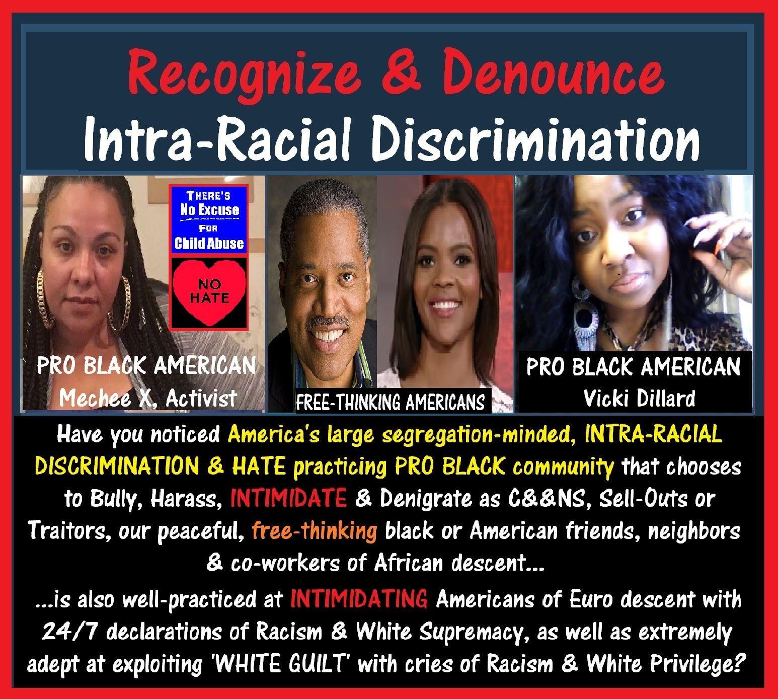 INTRA-Racial Discrimination, Larry Elder, Candace Owens, Vicki Dillard, Mechee X.jpg