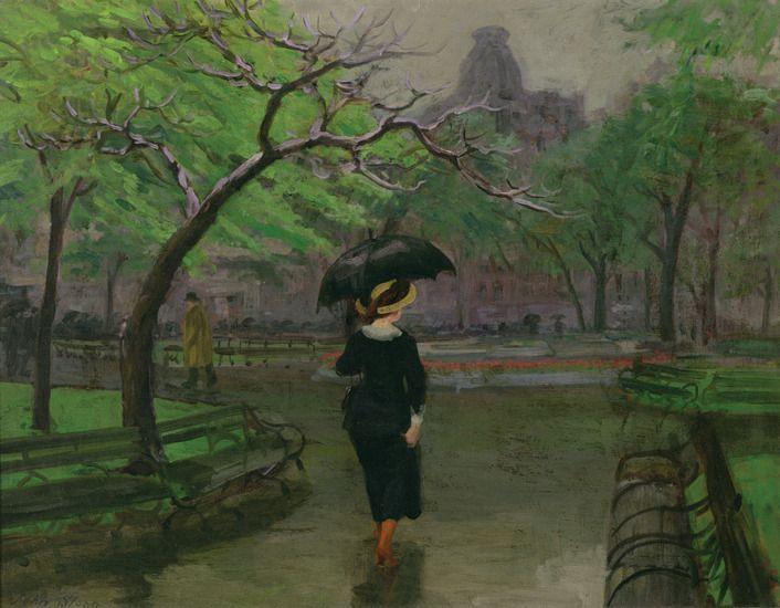John Sloan - Spring Rain (1912)..jpg