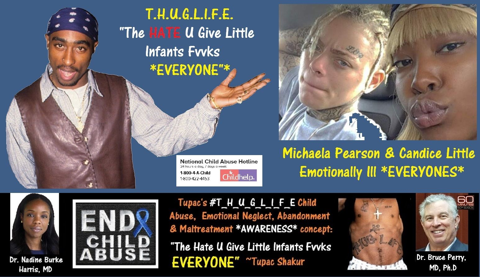 Michaela Pearson, Candice Little, tupac, nadine burke harris.jpg