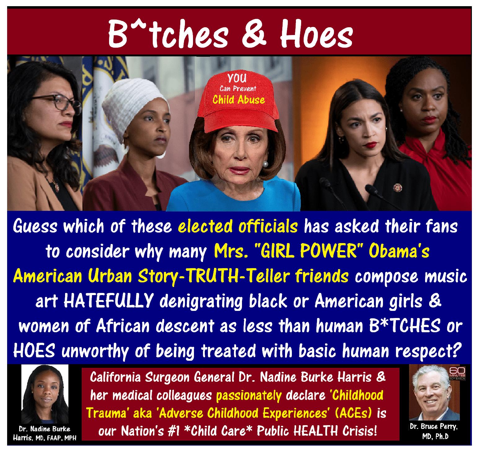 Nancy Pelosi, THESQUAD, Bitches Hoes.png
