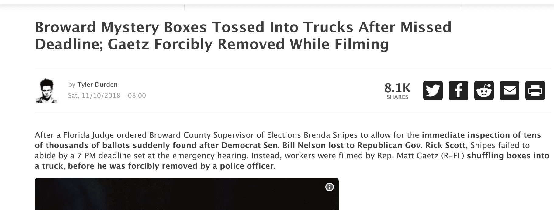 Broward mystery boxes tossed into trucks after missed