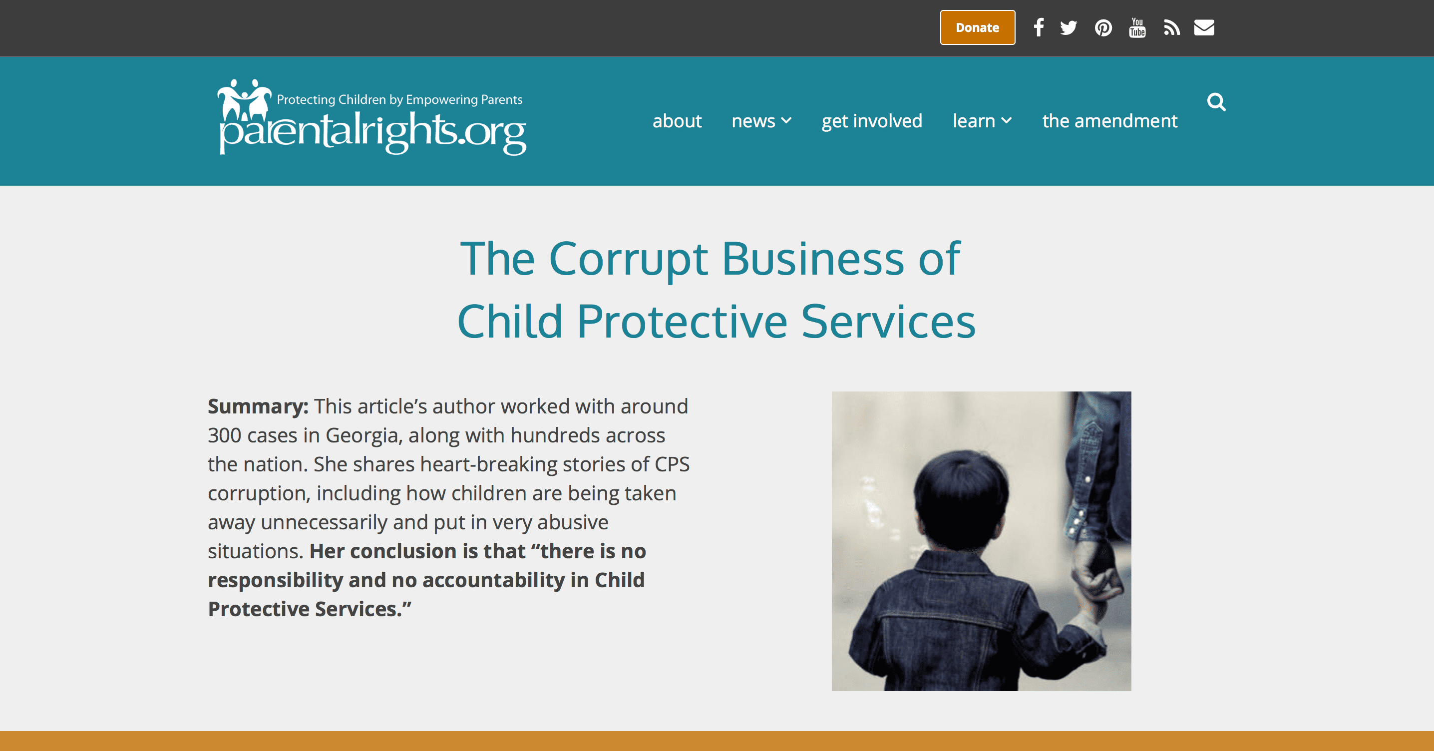 Child sex trafficking through child protective services exposed