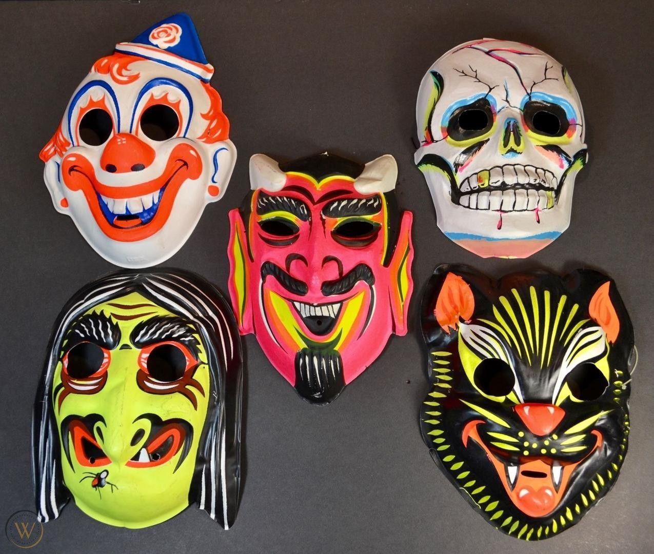 Vintage Halloween Masks.jpg